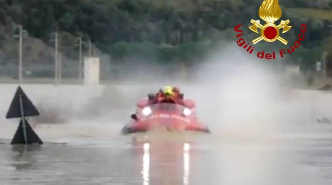 hovercraft Vigili del fuoco