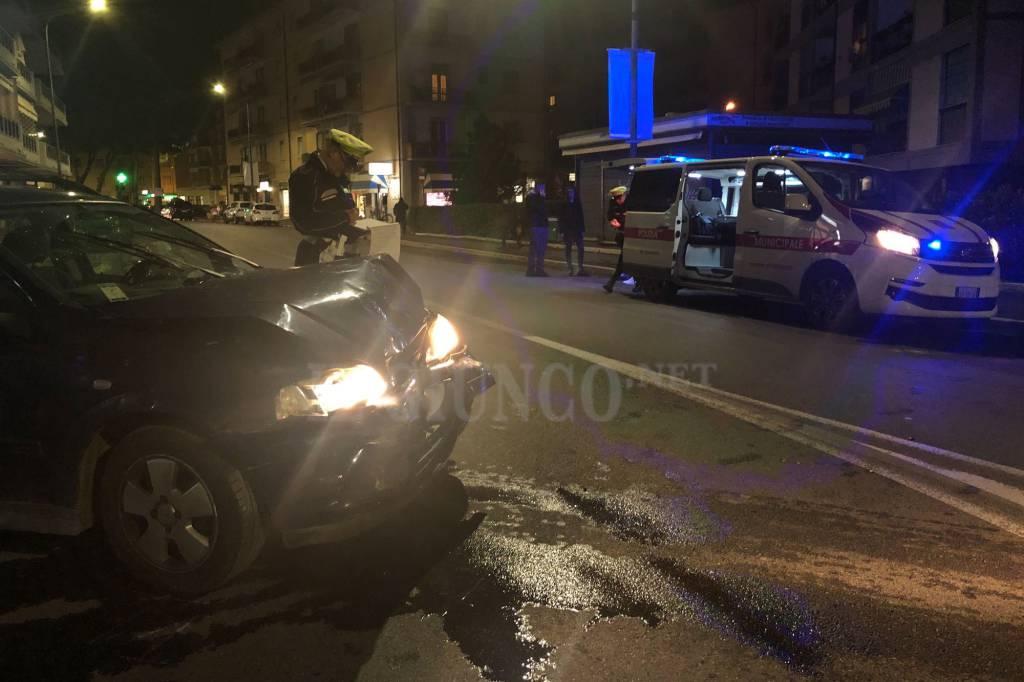 incidente via Giusti