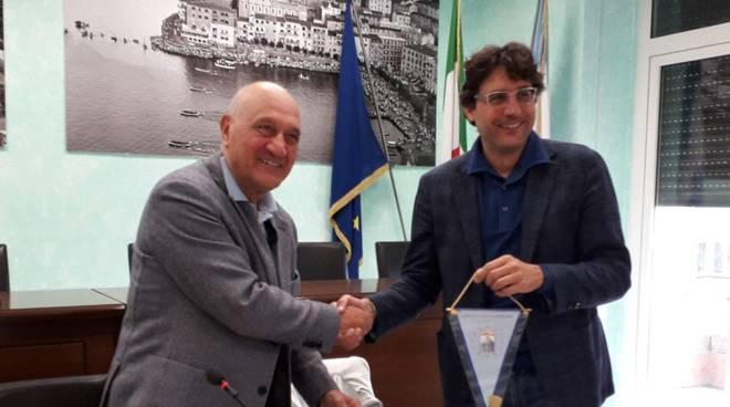 Luca Santini - Franco Borghini firma Portoargentario