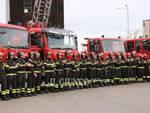 Sirene spiegate Vigili del fuoco