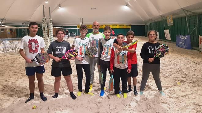 Tensostruttura bimbi beach tennis