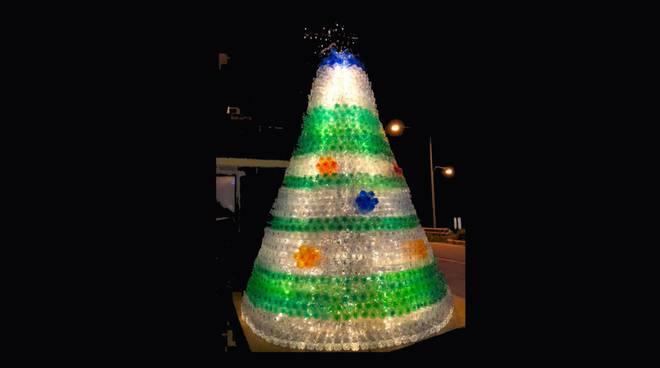 Albero di Natale plastica riciclata 2019 Ravi