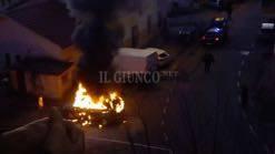 Auto a fuoco Manciano 2019