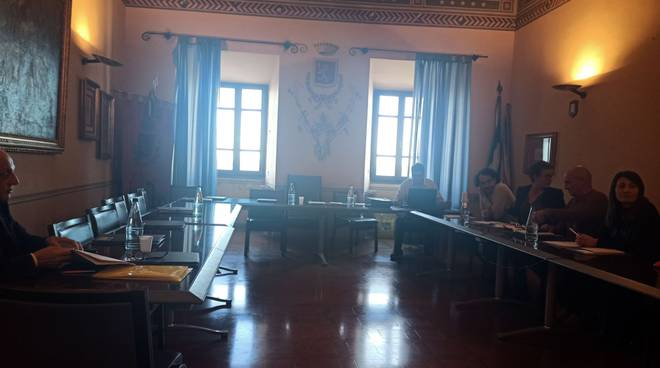 consiglio comunale Manciano aula vuota