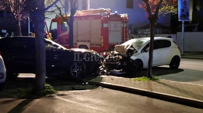 Frontale parcheggio - omicidio di Natale