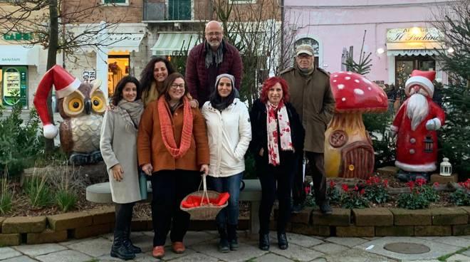 inaugurazione installazioni natalizie ccn