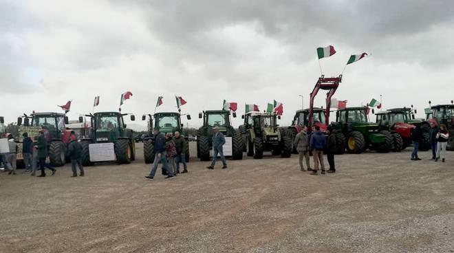manifestazione pastori allevatori (Pastorelli Fais)