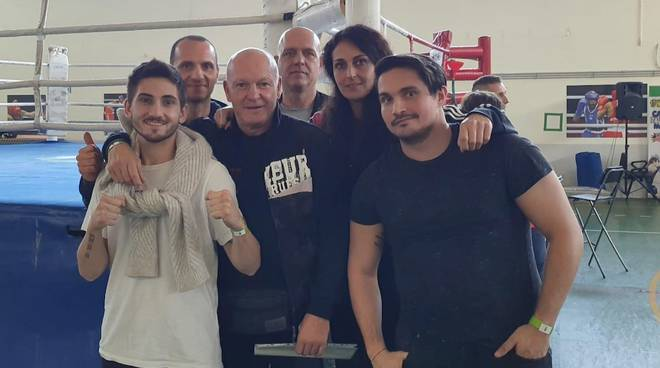 Maremma Boxe evento Roma