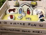 presepi scuola via Monte Bianco