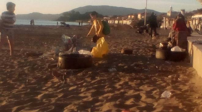 degrado spiaggia