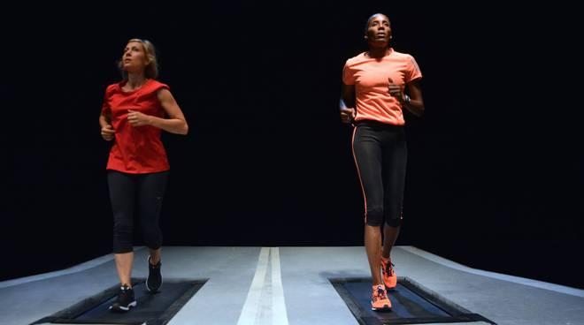 "Fiona May in ""Maratona di New York"""
