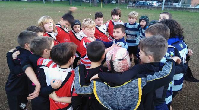 Golfo Rugby Under 10 con Rufus e Grosseto 2020