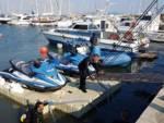 Moto acqua polizia Talamone