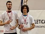Atletica Grosseto - Ceccarelli (dx) campione regionale