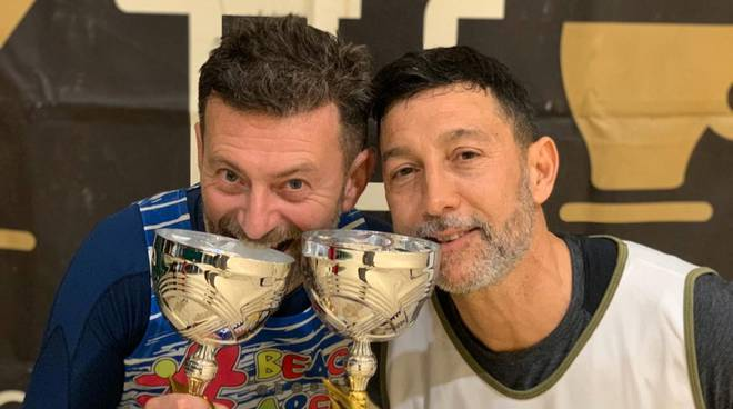 Beach tennis - Roberto Rosichini e Antonio Settembre