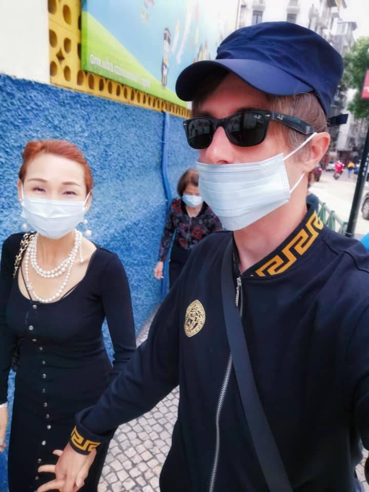 Giacomo Capirci in Cina