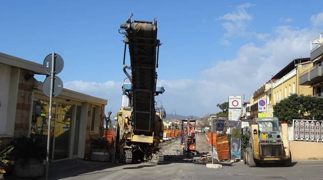 lavori lungomare via roma - cdp feb 2020