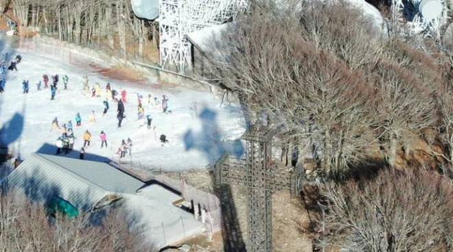 Mancanza di neve febbraio 2020