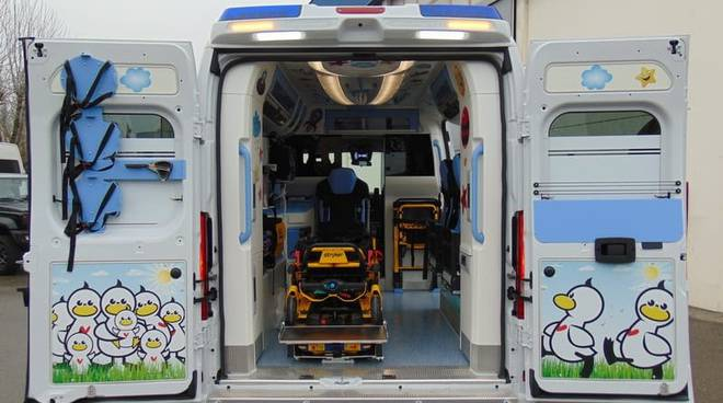 ambulanza pediatrica