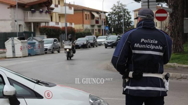 Controlli coronavirus Polizia Municipale 2020