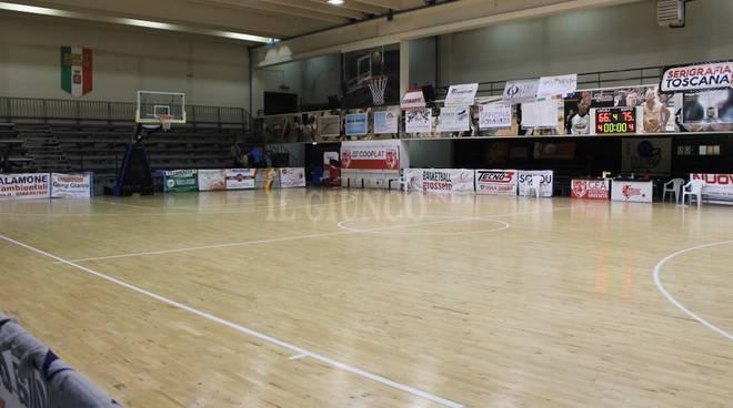 Gea Basketball impianto palazzetto via Austria