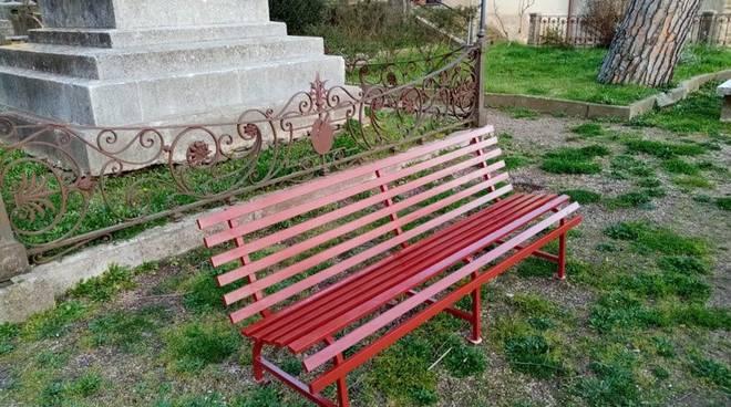 panchina rossa Manciano