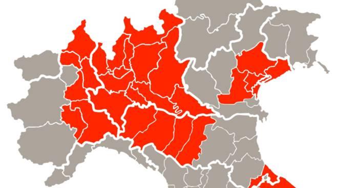 Cartina Lombardia E Province.Coronavirus Il Nuovo Decreto Chiude La Lombardia E 14 Province Ecco Le Limitazioni Per Grosseto E La Maremma Ilgiunco Net