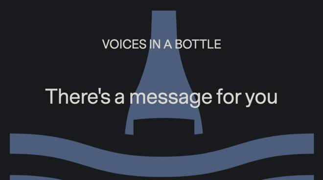 App Voice in bottle