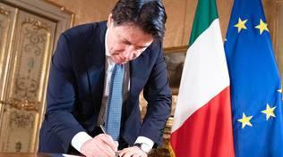 Giuseppe Conte (firma)