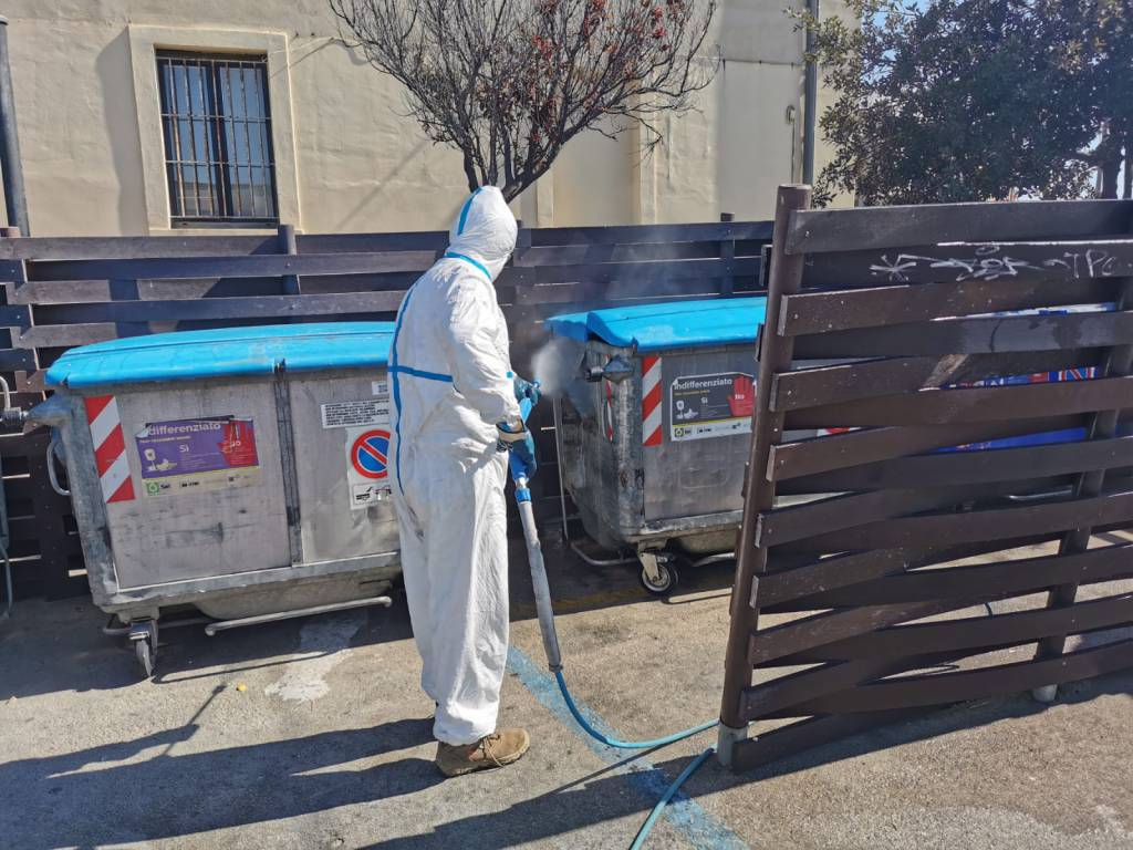 sanificazione e igienizzazione cdp