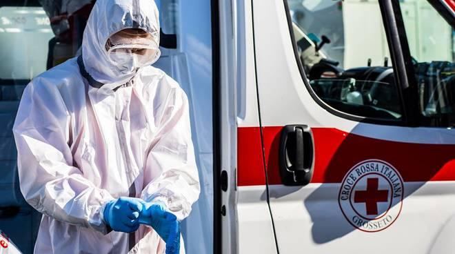Volti al tempo del coronavirus 2020 croce rossa