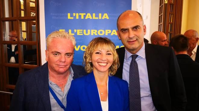Elisabetta Ripani, Stefano Mugnai e Sandro Marrini