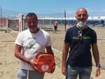 Defibrillatori beach tennis Uisp