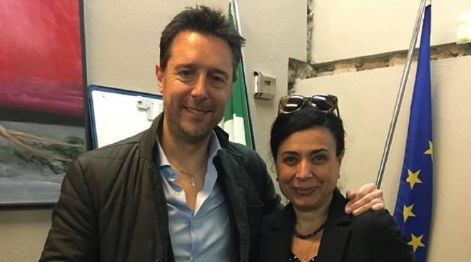 Fabrizio Rossi e Simonetta Baccetti