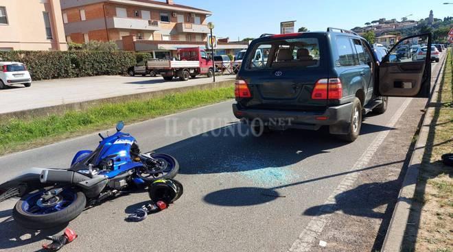 incidente auto moto