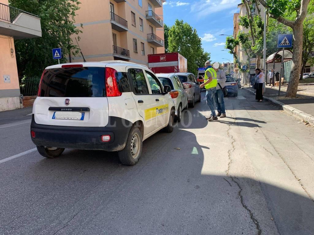 Incidente via Fabio Massimo giugno 2020
