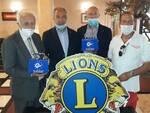 lions donano sanificatori