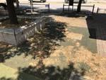 parco giochi degradato