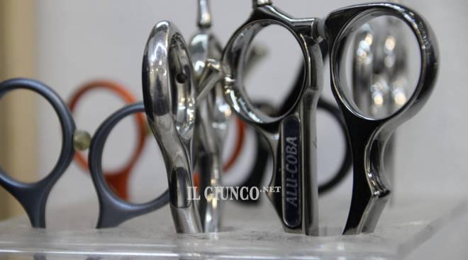 Parrucchiere forbici