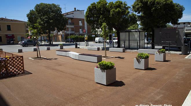 piazza Gramsci Scarlino Scalo