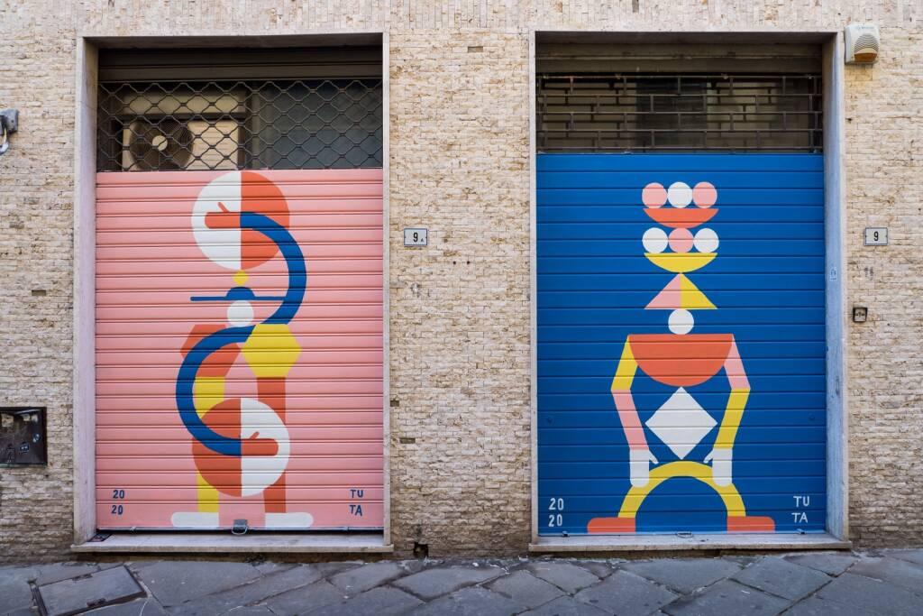 Progetto Trame - Serrande chiuse per arte aperta