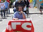 Protesta degli insegnanti Cristofoto Russo