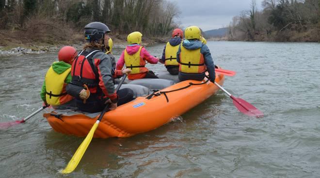 rafting ombrone terramare bambini