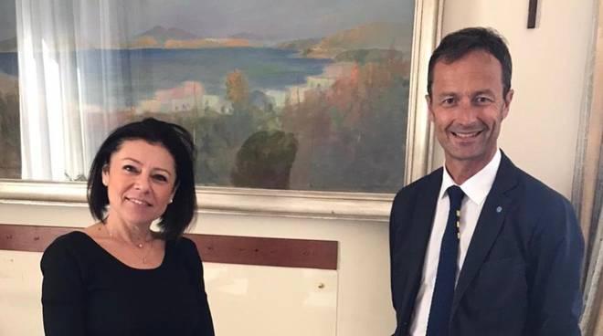 Riccardo Breda e Paola De Micheli giugno 2020