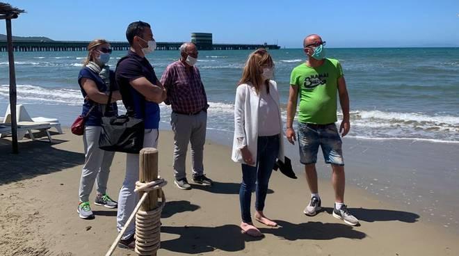 sopralluogo spiaggia giugno 2020