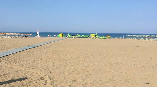 spiaggia libera Marina