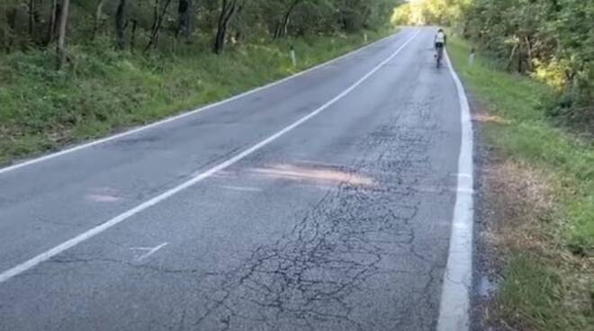 strada incidente Zanardi