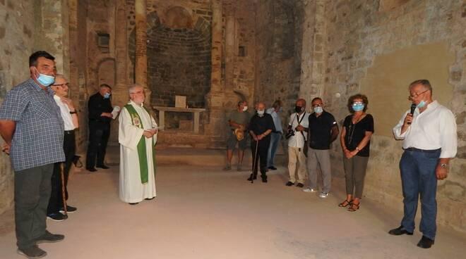 Benedizione chiesetta dell'eremo di Malavalle