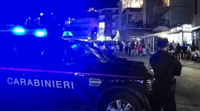 carabinieri notte Porto ercole