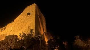 Castello di Scarlino notte